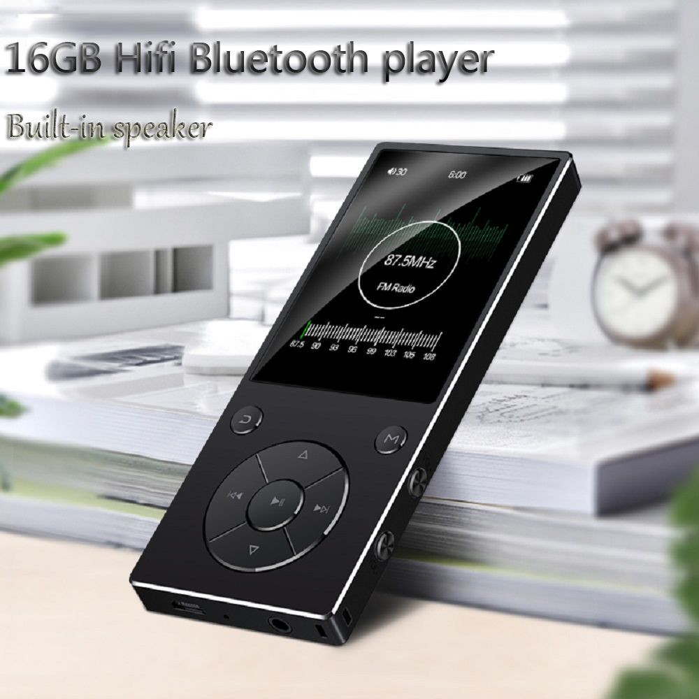 Original Speaker player 16GB HIFI Lossles Sound Music Player with bluetooth FM Radio Voice Recorder E-Book Photo Viewer
