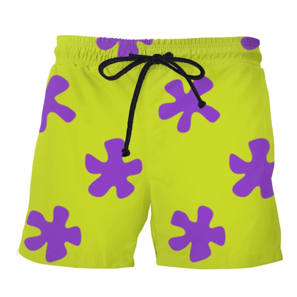 PLstar Cosmos 2019 Summer Men Casual Shorts 3d Patrick Star Trousers For Women/Men Regualr Shorts Dropshipping
