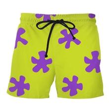 PLstar Cosmos 2019 Summer Men Casual Shorts 3d Patrick Star Trousers For Women/Men Regualr Dropshipping