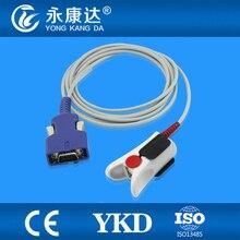 Mediana YM 6000 adult finger clip spo2 sensor, oximax 14pins