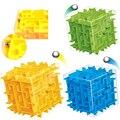 Labirinto 3D Magic Cube Enigma Velocidade Cubo Labirinto Bola Rolando Brinquedos Jogo de Puzzle Cubos Magicos Inteligência Educacional Brinquedo do miúdo Do Bebê