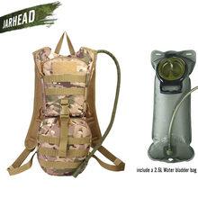 b37c22a13d2 2.5L Water Bag Blaas Hydratatie Rugzak Outdoor Camping Molle Militaire  Tactische Knapzak Fietsen Wandelen Klimmen