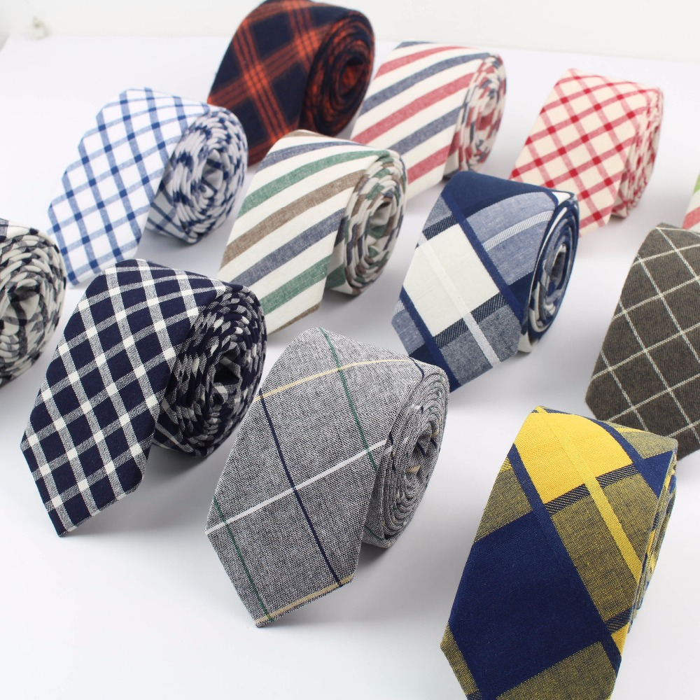 Women Tie Classic Men's Plaid Necktie Casual Sweet Rainbow Suit Bowknots Ties Male Cotton Skinny Slim Ties Colourful Cravat(China)