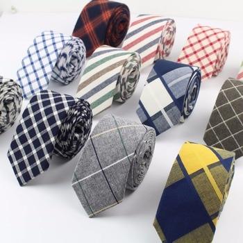 Women Tie Classic Men's Plaid Necktie Casual Sweet Rainbow Suit Bowknots Ties Male Cotton Skinny Slim Ties Colourful Cravat
