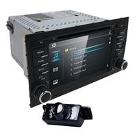 2Din 7CarDVD GPS For Audi A4 2002 2008 S4 RS4 8E 8F B9 B7 RNS E 2Din DVD For A4 Stereo Sat Nav DVD Screen Mirroring/DAB+ Radio