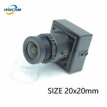 HQCAM 700TVL 1/3″Sony Super Color CCD Mini Square Color Camera 20x20mm Mini Video Surveillance mini Camera Industrial Camera