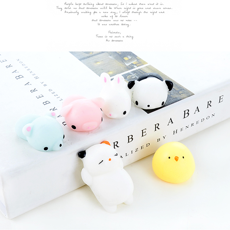 Squishy Cat Anti Stress font b Toys b font Cute Cat Squeeze Healing Fun Kids Kawaii