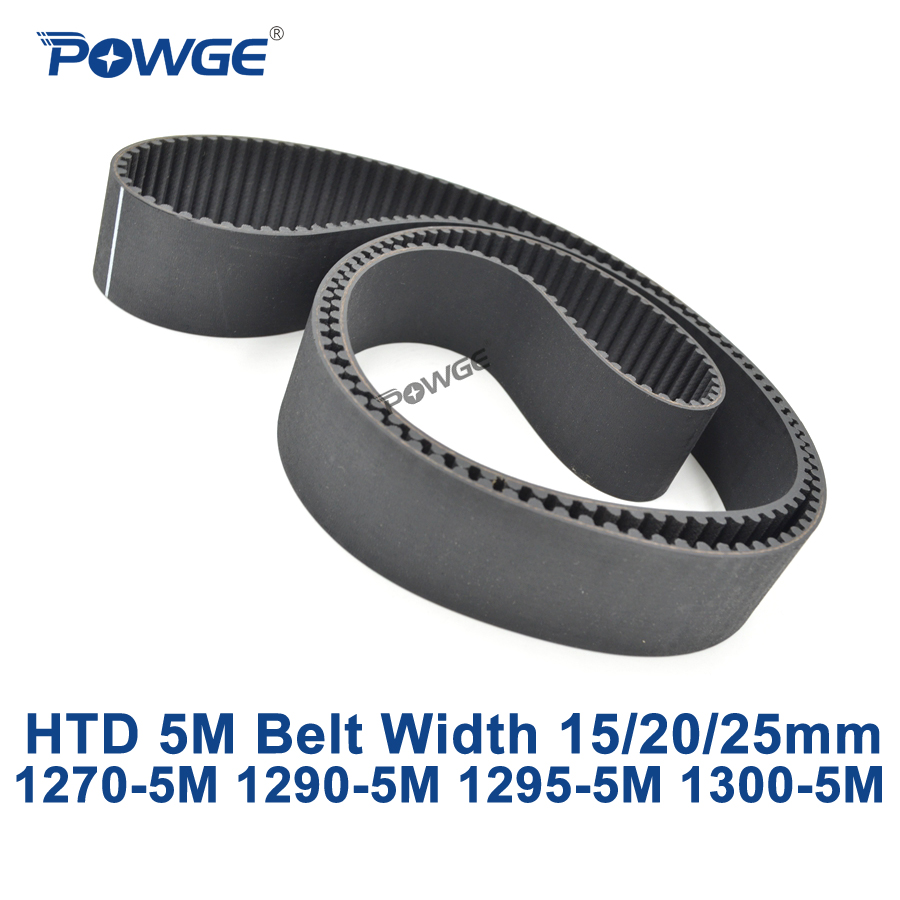 POWGE HTD 5 M courroie de distribution synchrone C = 1270/1290/1295/1300 largeur 15/20/25mm dents 254 258 259 260 HTD5M 1270-5 M 1290-5 M 1300-5 MPOWGE HTD 5 M courroie de distribution synchrone C = 1270/1290/1295/1300 largeur 15/20/25mm dents 254 258 259 260 HTD5M 1270-5 M 1290-5 M 1300-5 M