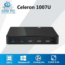 Ultra Thin Mini PC Intel Celeron 1007U Pentium 2117U 1.80GHz Windows XP Mini Computer Nuc PC Mini DDR3 RAM HDMI HTPC TV BOX