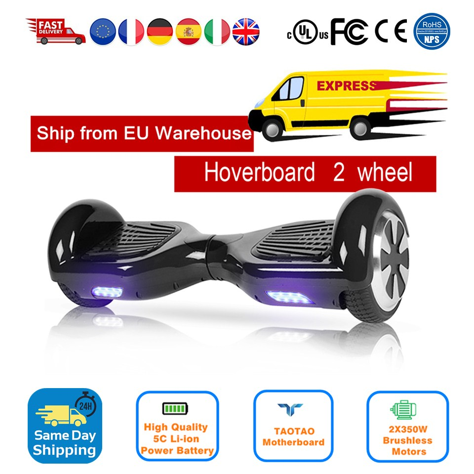Hoverboard 6.5 Inch Balance Hover Board With Bag Bluetooth Remote Controller Overboard Skateboard Electric Scooter Adults Kids 8 inch hoverboard 2 wheel led light electric hoverboard scooter self balance remote bluetooth smart electric skateboard