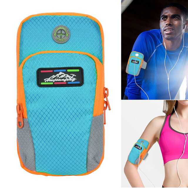 NEW Sport Arm Band Case For 6 inch Phone iPhone/Samsung/Huawei  Outdoor Waterproof Running Gym Phone Cover Coque Accessory 4