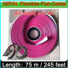 16PIN LED Ribbon cable,single&double color Indoor and outdoor Full color LED display 16Pin data cable