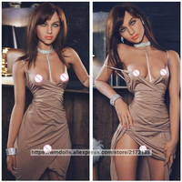 WMDOLL New 168cm Real Sized Silicone Sex Doll Realistic Lifelike TPE Small Breast Adult Love Dolls For Men