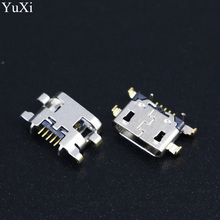 10pcs Micro mini USB jack socket charging Port Dock replacement Connector For Lenovo Vibe A7020 K52t38 K52e78 K5 Note For Meizu стоимость