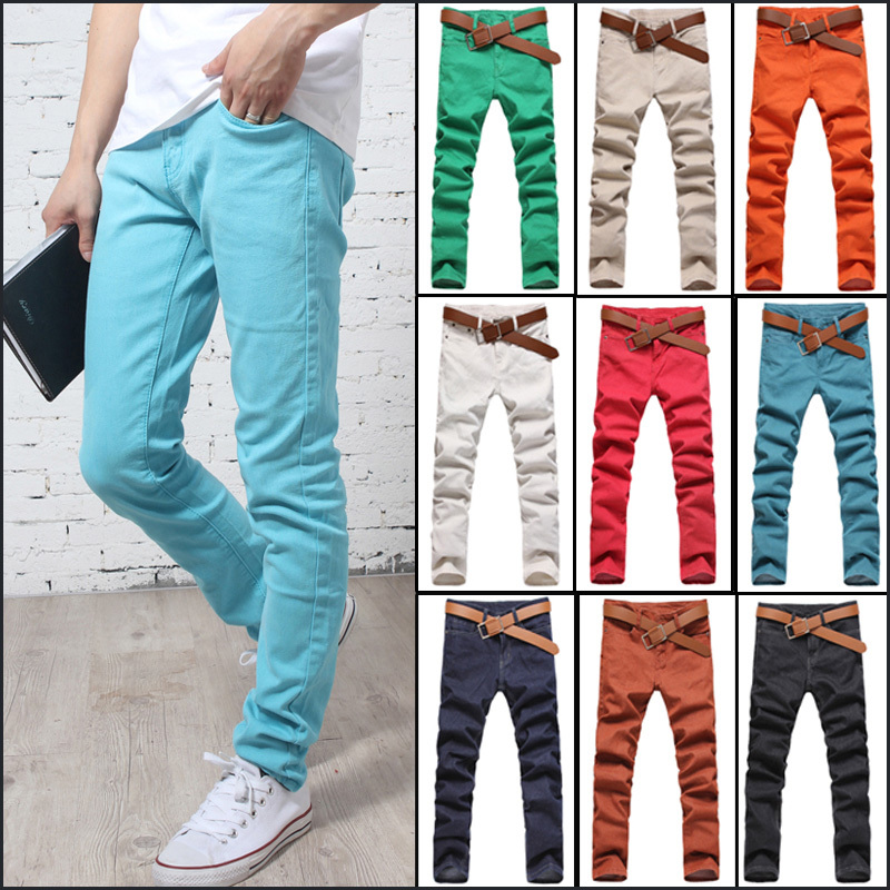 Mens Colored Jeans Denim - Xtellar Jeans