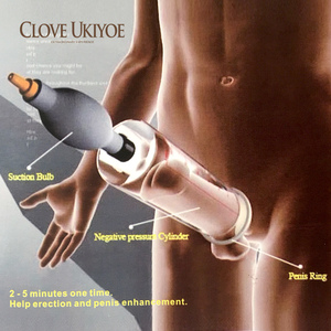 Image 3 - Powerful Penis Enlarger Male Sexual Massager Vacuum Cup Electric Shock Medical Sex Toy for man Pro Expander Proextender