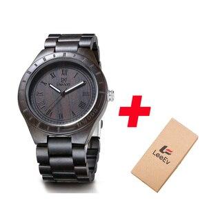 Image 1 - ساعة يد من الخشب الأكثر مبيعًا مصنوعة من خشب الصندل UWOOD ساعة يد عصرية للرجال والطلاب بسوار من الخشب الكلاسيكي ساعات يد للرجال