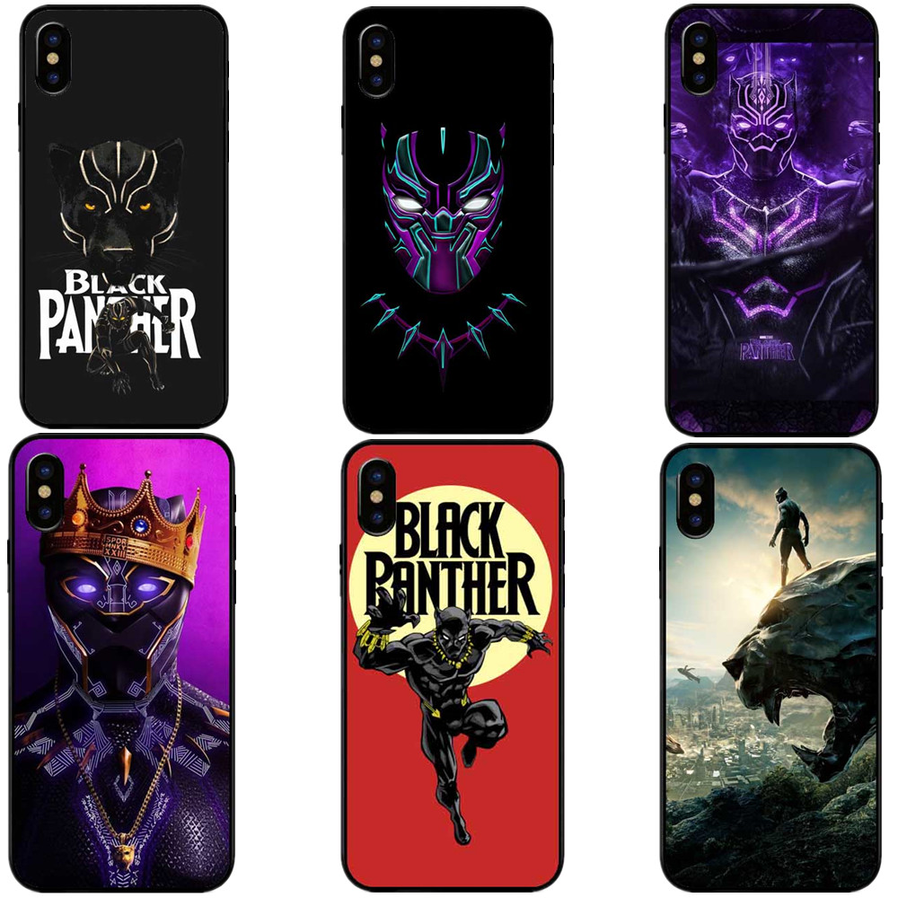 black panther coque iphone x