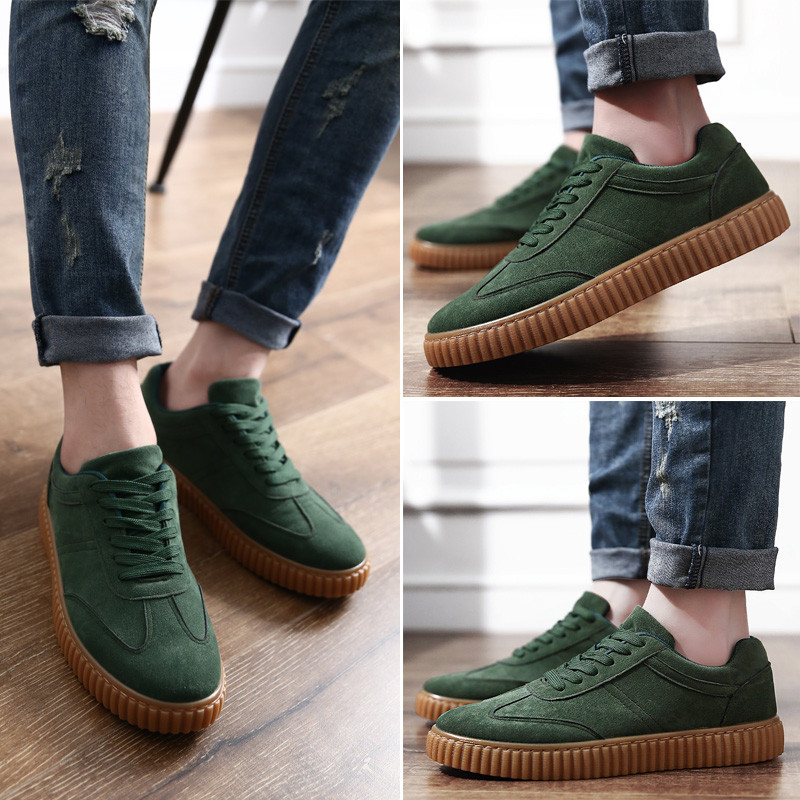 KUYUPP Men Casual Shoes quality creepers suede shoes size 39-44 luxury men shoes flats chaussure femme 2017 spring autumn Y171 (1)