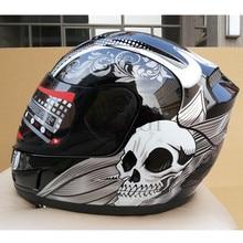 Полное лицо гоночный мото rcycle moto крест защитный шлем ECE Сертификация Мужчины Женщины casco moto casque, Capacete
