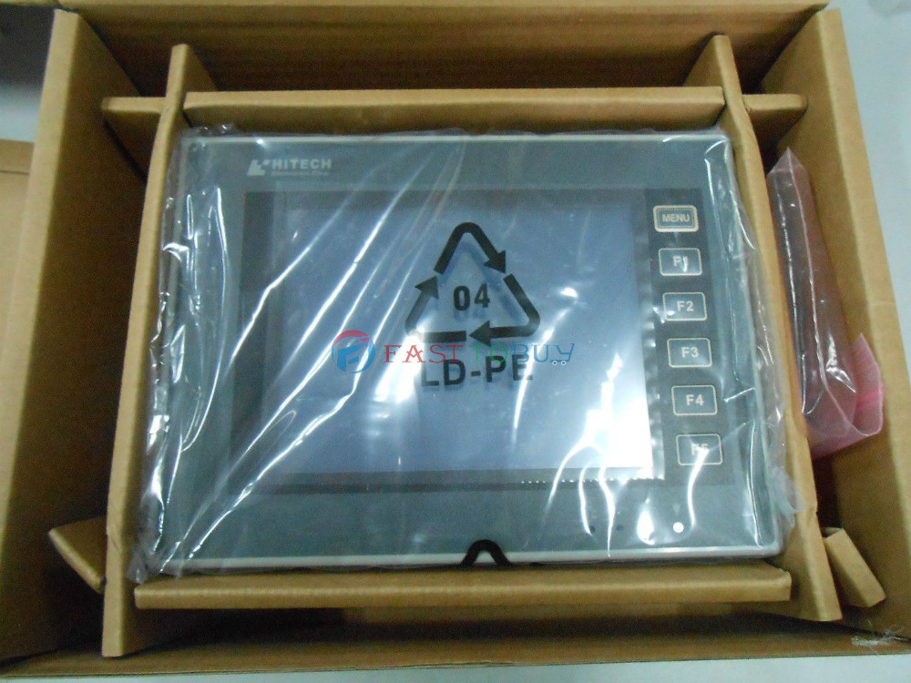 New HITECH 5.7 inch  HMI Touch Operator Panel Display  Screen PWS6600S-S free program cable 1Y Warranty