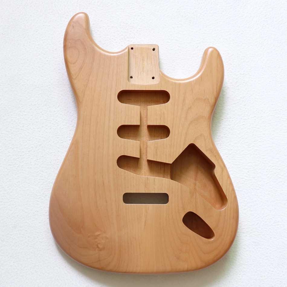 Stratocaster Strat SSS Style Alder Body Surf Green vintage nitro satin finish