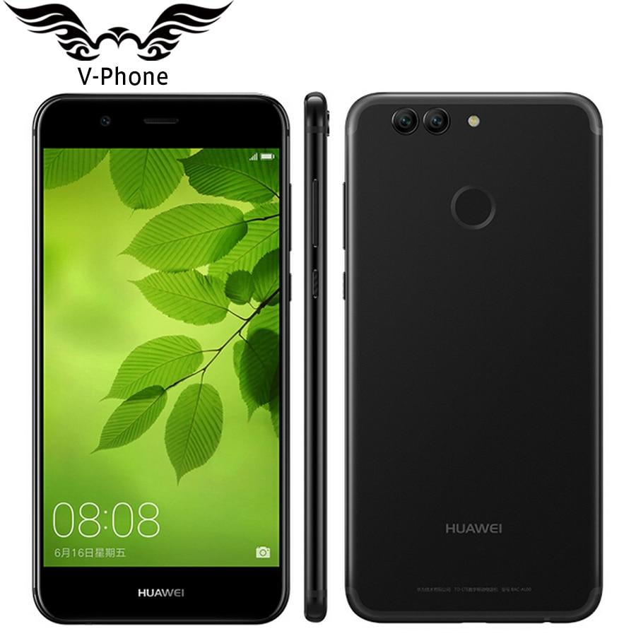 Original Huawei Nova 2 plus 4G LTE 5 5 inch 1920 1080 p Mobile Phone Kirin