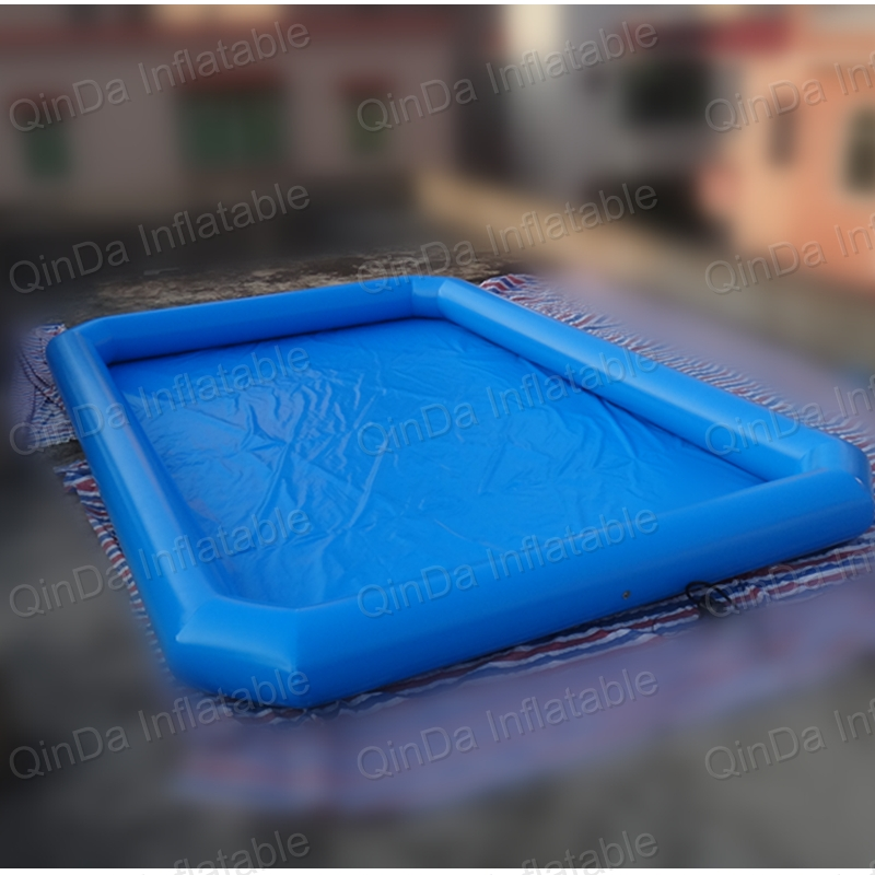 Hot Sale Pool Type 0.9mm PVC Inflatable Swimming Pool For Water Ball Boat Use vilead new american stripe water hammock pvc sleep tents pool row pattern lounge inflatable air floating bed for beach swimming