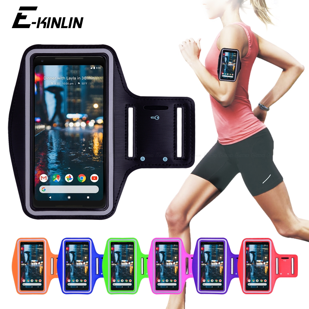 Shockproof Phone Holder Bag Outdoor Sports Key Jogging Waterproof Gym Protect Running Exercise Cycling Armband Case Lightweight Mobile Phone Accessories