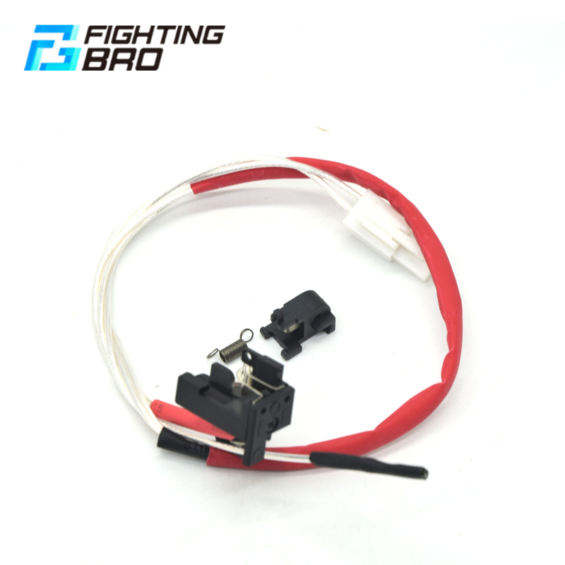 Image 2 - Fighting Bro LARGE CAPACITY SWITCH ASSEMBLY Suitable For Ver.2 Gearbox Rear Wiring Airsoft AEG Accessories-in Paintball Accessories from Sports & Entertainment