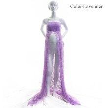 Lace Maxi Maternity Photography Dress
