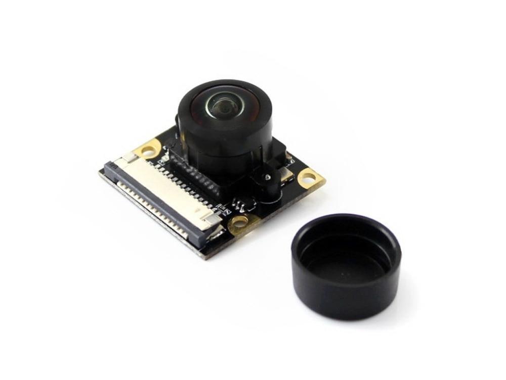 Raspberry Pi Camera Module Fisheye Lens 200 degree Wider Field of View Adjustable Focal Length 5 Mega Pixels OV5647 sensor mobile phone bags