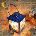 Подлинная Железный класс кристалла соли лампы затемнения ночь глаз спальня ночники творческий настольная лампа Книга Света лампы Глаз