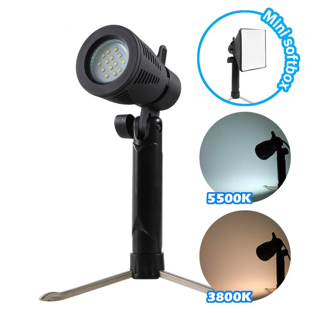 Meking Mini LED Lamp 5500K 3800K For Home Studio Lighting Still Photographic Animated Stick Figure Shooting