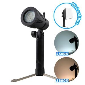 Image 1 - Meking Mini LED Lamp 5500K 3800K for Home Studio Lighting Still Photographic Animated Stick Figure Shooting