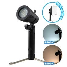Meking Mini LED Lampe 5500K 3800K für Home Studio Beleuchtung Noch Fotografische Animierte Stick Figur Schießen