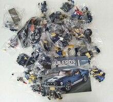 NEW 10265 21047 Ford Mustang Technic Series  Race Car Building Assembled Blocks Bricks Enlighten Toytoytechnic