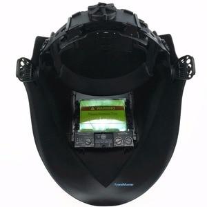 """Image 5 - Welding Mask Top Size 100x73mm(3.94x2.87"""") Top Optical Class 1111 4 Sensors Shade Range 4(3) 13 Auto Darkening Welding Helmet"""