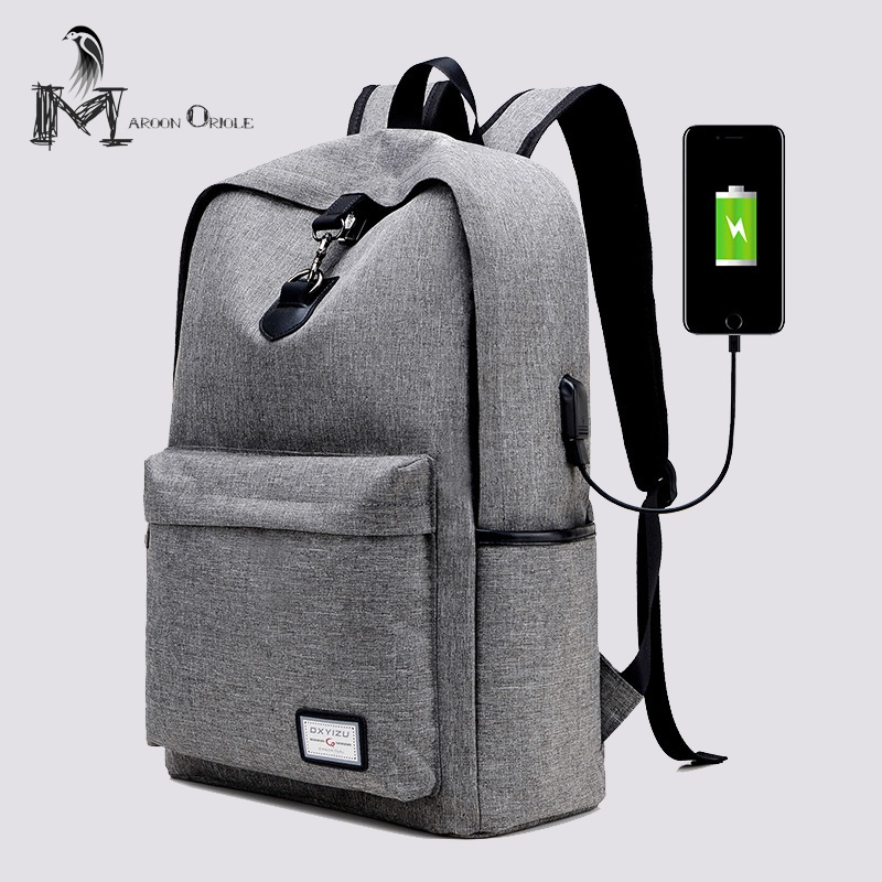 c527b469df26a External USB charge backpack mens fashion backpack high fashion school bag  for girls boys