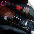 1 Pc Auto Car Titular Caixa de Organizador De Armazenamento De Bolso de Fenda Lacuna Assento de Carro Assento de Carro Caixa de Armazenamento de Costura Carro styling