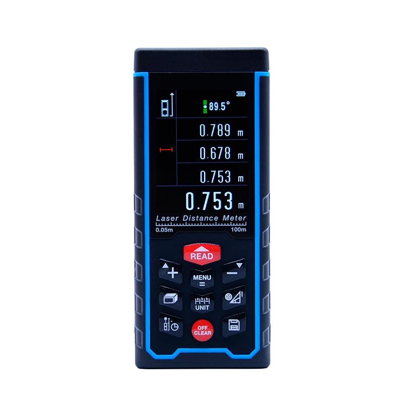 SNDWAY lazer mesafe mete lazer menzil menzil bulucu dijital bant USB renkli ekran Rechargeabel 100 M SW-S100SNDWAY lazer mesafe mete lazer menzil menzil bulucu dijital bant USB renkli ekran Rechargeabel 100 M SW-S100