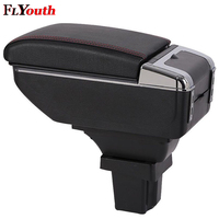 For Chevrolet Trax 2014 2017 Armrest Box Usb Charging Interface Heighten Central Store Content Box Cup Holder Ashtray Accessory