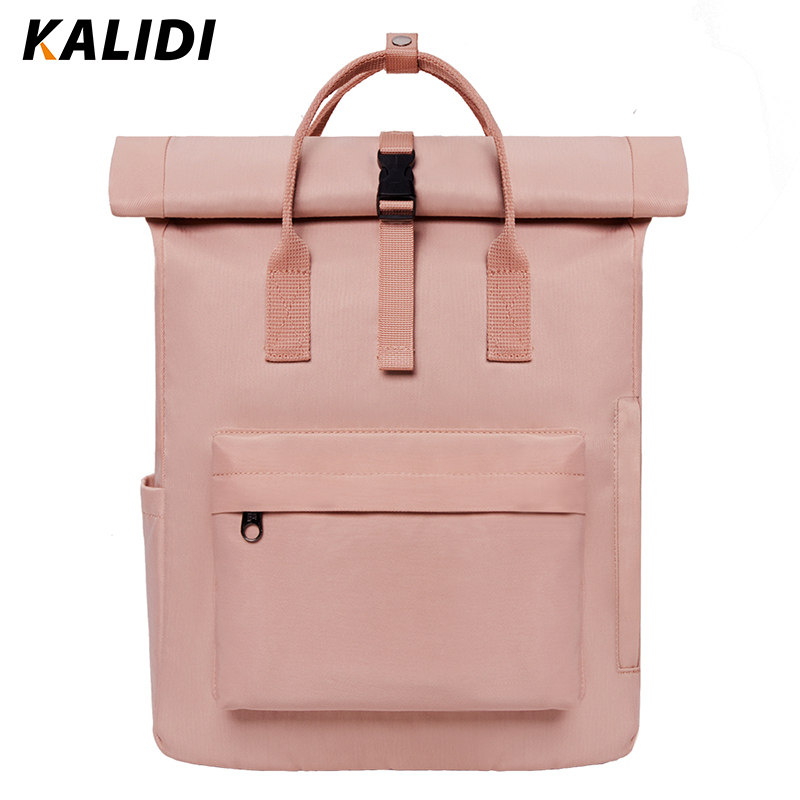 KALIDI Women External USB Charge Backpack Canvas Backpack Male Mochila Escolar Laptop Backpack Girls School Backpack for Teens