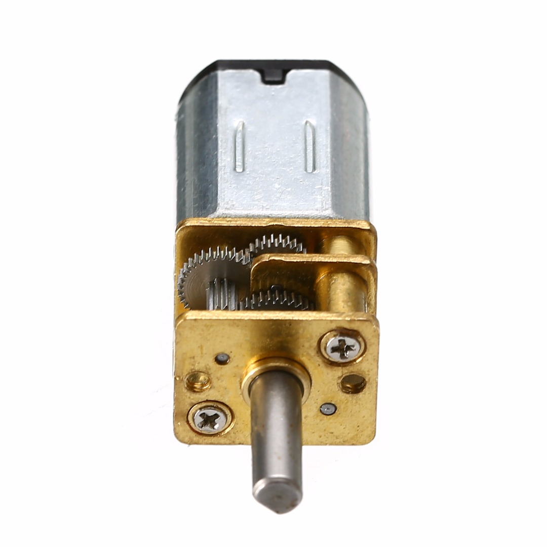 DC 6V 30RPM High Torque 3mm Shaft Diameter Low Speed Solder Gear Box Motor