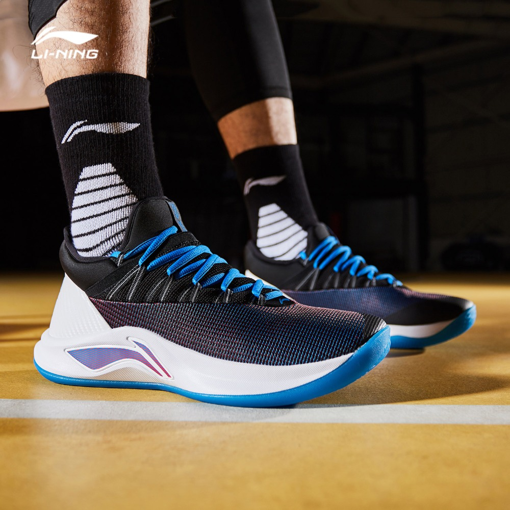 Li-Ning Men's SPEED V Basketball Shoes Professional Cushion Bounce LiNing CLOUD Wearable Sport Shoes Sneakers ABAN051 SOND18