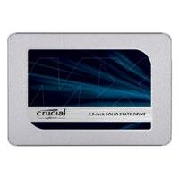 Crucial MX500, 250 GB, 2.5, Serial ATA II, 560 MB/s, 6 Gbit/s Plata Discos duros solids internos SSD