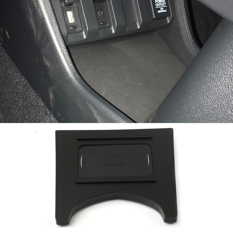 10W QI chargeur sans fil support pour téléphone plateau de chargement rapide plaque de chargement panneau accessoires de voiture pour Honda XRV HRV HR-V XR-V Vezel