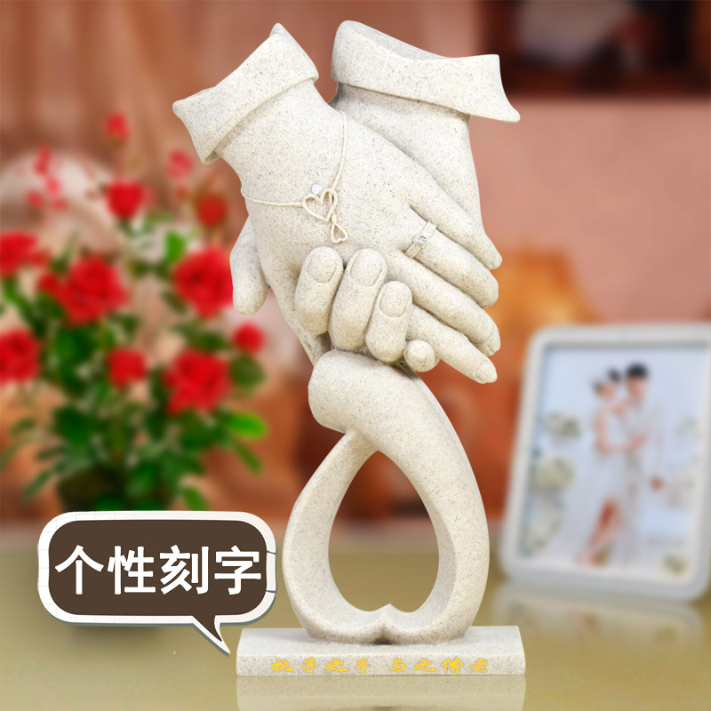 anniversary gift for Valentines Day Wedding Decorations of the Qixi Festival wife Home Furnishing craft gift ornamentsanniversary gift for Valentines Day Wedding Decorations of the Qixi Festival wife Home Furnishing craft gift ornaments