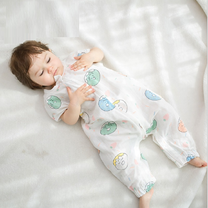 0 4 Years New Baby Sleeping Bags 100 Muslin Cotton Aden Anais Thin Sleeping Bag Summer Bedding Sleepsacks Baby Anti Kick Quilt in Blanket Sleepers from Mother Kids