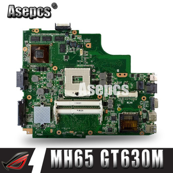 Asepcs  K43SM laptop Motherboard For ASUS X43S A43S K43S A83S A84S K43SJ K43SV Mainboard 100% OK  HM65 GT630M/1GB
